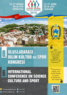 6th international Conference on Science Culture and Sports 25-27 April 2018